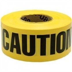 3M - 364 - 3M 364 Caution Buried Electric Line Below Barricade Tape, 3 x 1000'