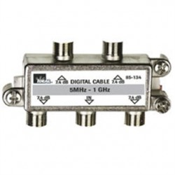 IDEAL Electrical / IDEAL Industries - 85-134 - Ideal 85-134 High Performance Cable Splitter 5MHz-1GHz 4-Way Card of