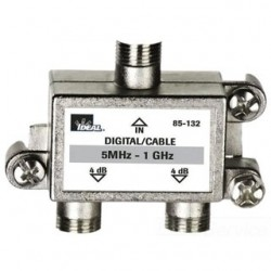 IDEAL Electrical / IDEAL Industries - 85-133 - Ideal 85-133 High Performance Cable Splitter 5MHz-1GHz 3-Way Card of