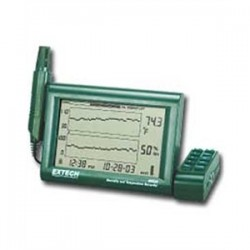 Extech Instruments - EEHRH520A - Extech EEHRH520A Chart Recorder, Temperature / Humidity w/ Detachable Probe