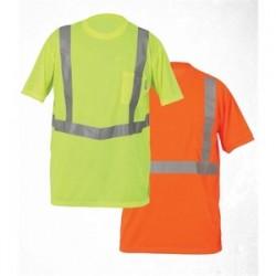 Lift Safety - AVE-10EL - Lift Safety AVE-10EL Vjz Pro Tee Safety Shirt, Large, Orange
