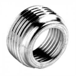 Bridgeport Fittings - 1160 - Bridgeport Fittings 1160 Reducing Bushing, Threaded, Size: 1/2 x 3/8, Steel/Zinc
