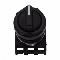 Eaton Electrical - E22XBL1D - Eaton E22XBL1D 22.5 Mm, Non-metallic, Assembled Selector Switch