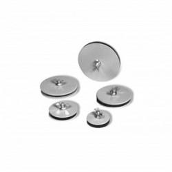 Austin Electrical Enclosures - AB-050HS - Austin Electrical Enclosures AB-050HS Hole Seal, Oil Tight, Size: 1/2, Material: Steel, Finish: Gray