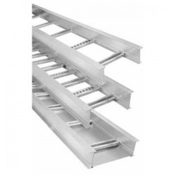 Thomas & Betts - AH4-6-12-L09-144H - Thomas & Betts AH4-6-12-L09-144H Ladder Type Cable Tray, Straight, 6 High, 12 Wide, 12' Length, Aluminum