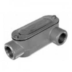 Topaz Lighting - LL1CG - Topaz LL1CG Conduit Body, Type LL, 1/2, Cover/Gasket, Aluminum