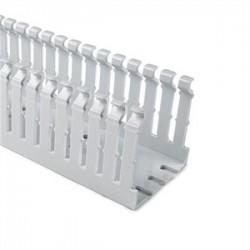 Hellermann Tyton - SLHD2X4W4 - HellermannTyton SLHD2X4W4 4 x 2 High Density Wire Duct