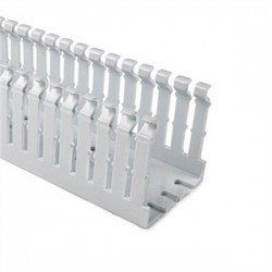 Hellermann Tyton - SLHD2X4G4 - HellermannTyton SLHD2X4G4 4 x 2 High Density Wire Duct