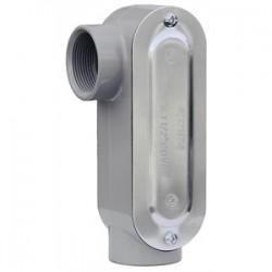 L.H. Dottie - LR125CG - Dottie LR125CG Conduit Body With Cover/Gasket, Type: LR, Size: 1-1/4, Aluminum