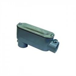 L.H. Dottie - LR50CG - Dottie LR50CG Conduit Body With Cover/Gasket, Type: LR, Size: 1/2, Aluminum