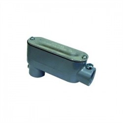 L.H. Dottie - LR75CG - Dottie LR75CG Conduit Body, Type LR, 3/4, Cover/Gasket, Aluminum