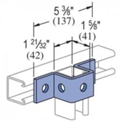 Atkore - P1047-gr - Unistrut P1047-gr Uns P1047-gr U Shape Fitting