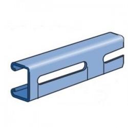 Atkore - P4100SL-10PG - Unistrut P4100SL-10PG Channel with 3 Slots, Steel, Pre-Galvanized, 1-5/8 x 13/16 x 10'