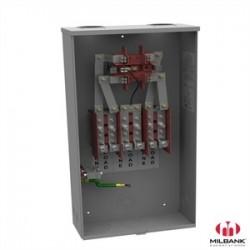 Milbank - 127TB-RP - Milbank 127TB-RP 200A, 3P, 7 Jaw, Meter Socket