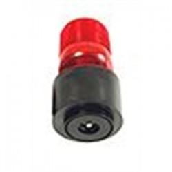 TOMAR Electronics - 485S-120-R - TOMAR Electronics 485S-120-R Strobe, Low Profile, Type: Single Flash, 120VAC, Lens: Red