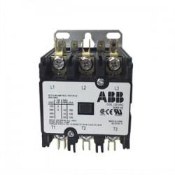 ABB - DP30C3P-F - ABB DP30C3P-F 30A, 3P, Definite Purpose Contactor