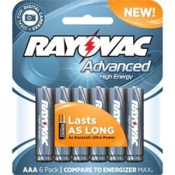 Rayovac - 824-6HEF - Rayovac 824-6HEF 1.5V AAA Battery - 6-Pack