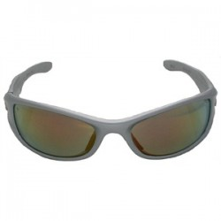 L.H. Dottie - EKOD685 - Dottie EKOD685 Protective Eyewear, UV Protection, Blue Lens, Silver Frame