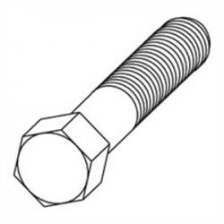 Eaton Electrical - 1/4x1hhcszn - Cooper B-line 1/4x1hhcszn Bln 1/4x1hhcszn Hex Head Cap Screw,
