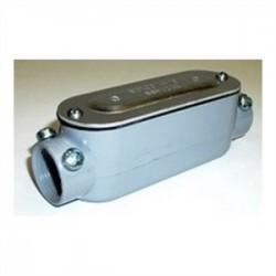 Bridgeport Fittings - C-42CGC - Bridgeport Fittings C-42CGC Conduit Body With Cover/Gasket, Size: 3/4, Type: C, Aluminum