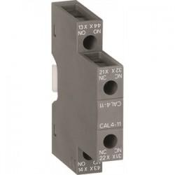 ABB - CAL4-11 - ABB CAL4-11 Instantaneous Auxiliary Contact, 1 N.O. / 1 N.C. Side Moun
