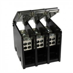 Burndy - BDBLHC223503 - Burndy BDBLHC223503 Power Distribution Block, 3-Pole, (2) 6 - 350 Run/Tap
