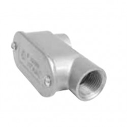 Topaz Lighting - 212 - Topaz 212 Conduit Body, Type SLB, 3/4, Cover/Gasket, Aluminum