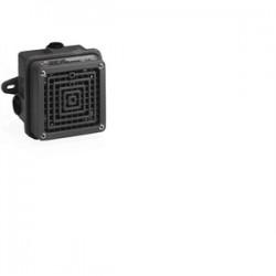 Federal Signal - 350WB-120 - Federal Signal 350WB-120 Vibrating Horn, 120VAC, 0.18A, 100dB @ 10', NEMA 4X, Black, Aluminum