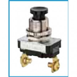 IDEAL Electrical / IDEAL Industries - 774022 - Ideal 774022 Momentary Contact Push-Button Switch, Black, SPST NO