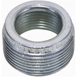 American Fittings - RB21H - American Fittings Corp RB21H Reducing Bushing, Threaded, Size: 3/4 x 1/2, Steel/Zinc