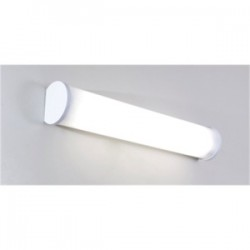 Elite Lighting - 4OVL232T8120 - Elite Lighting 4OVL232T8120 T8 Fluorescent Vanity Light, 4', 2L, 32W, 120V
