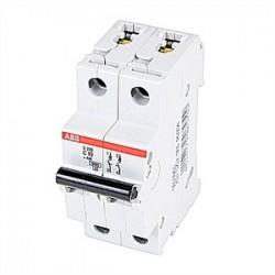 ABB - S202-C10 - ABB S202-C10 Miniature Circuit Breaker, 2-Pole, 10A, 480Y/277 VAC