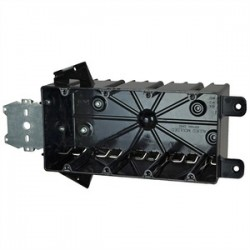 Allied Moulded - P-764HQT - Allied Moulded P-764HQT Switch/Outlet Box with Bracket, Depth: 3-1/4, 4-Gang, Non-Metallic