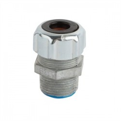 Thomas & Betts - 035-72775-18 - Thomas & Betts 035-72775-18 Liquidtight Cord Connector, Strain-Relief, 1, Zinc Die Cast