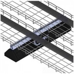 Cablofil - CPS10PG - Cablofil CPS10PG Cablo-PORT Base with Strut Support, 10 Long, 4-7/8 High