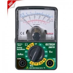 Extech Instruments - 38070 - Extech 38070 Multimeter, Compact, Analog