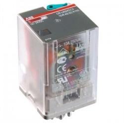 ABB - 1SVR405621R1100 - ABB Entrelec 1SVR 405 621 R1100 Relay, General Purpose , 10A, 8 Pin, DPDT, 24VDC Coil