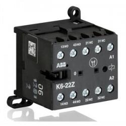 ABB - K6-22Z-84 - ABB K6-22Z-84 Control Relay, 2NO/2NC, 120V AC Coil