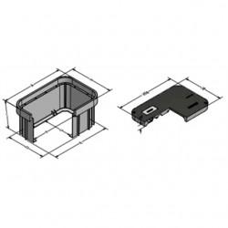 Oldcastle Precast - 32168101 - Oldcastle Precast 32168101 Box, Syn2436 T, 24 Duo