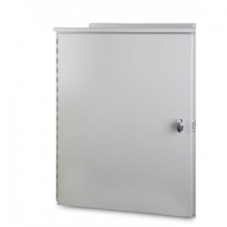 Austin Electrical Enclosures - 24129WS/MEC1 - Austin Electrical Enclosures 24129WS/MEC1 Enclosure, NEMA 3R, Hinged Cover, 24 x 12 x 9, Wall Mount