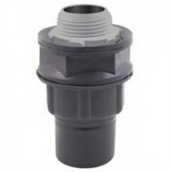 Calbond - PV0500LT50 - Calbond PV0500LT50 Liquid Tight Connector, Straight, 1/2, PVC Coated Steel