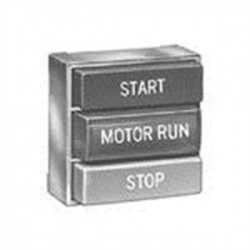 Eaton Electrical - E30ED - Eaton E30ED Multifunction Pushbutton Operator, 2 Button, 1 Indicating Light