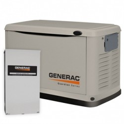 Generac - 6438 - Generac 6438 11kW, 120/240V, Standby Generator With Trans SW