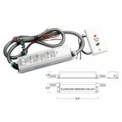 Mule Lighting - MF40-PLQ - Mule MF40-PLQ Emergency Ballast, Fluorescent, 1-Lamp, 120/277V
