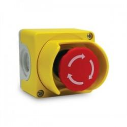 ABB - CEPY1-2001 - ABB CEPY1-2001 Emergency Stop Control Station, 2 N.C., Yellow/Light Gray