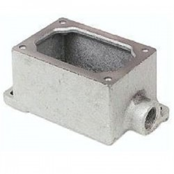 Eaton Electrical - EDS171 - Cooper Crouse-Hinds EDS171 Mounting Body, EDS TYPE, 1/2, 1-Gang, Dead-End, Iron