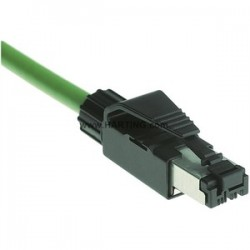 Harting - 9451511100 - Harting 9451511100 Modular Jack Plug, IDC, RJ45, 4 Contacts, Cat5, 24 - 22 AWG, Black