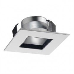 Acuity Brands Lighting - 17sq-hz-wh - Juno Lighting 17sq-hz-wh Jun 17sq-hz-wh 4in Sq Trim Dwnlight