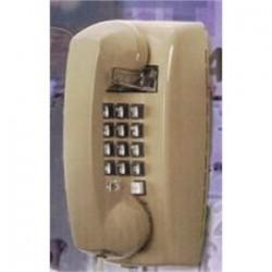 Emerson Network Power - 255400-VBA-20M - Emerson Network Power 255400-VBA-20M Phone, Wall Mount, Push Button, Basic, Single Line, Ash