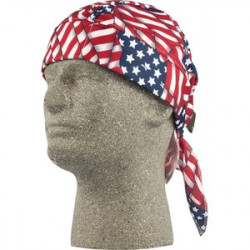 Lift Safety - ACS-14F - Lift Safety ACS-14F Skull Cap, American Flag